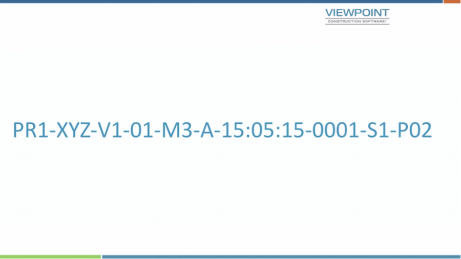 BS1192 Naming Convention | Viewpoint