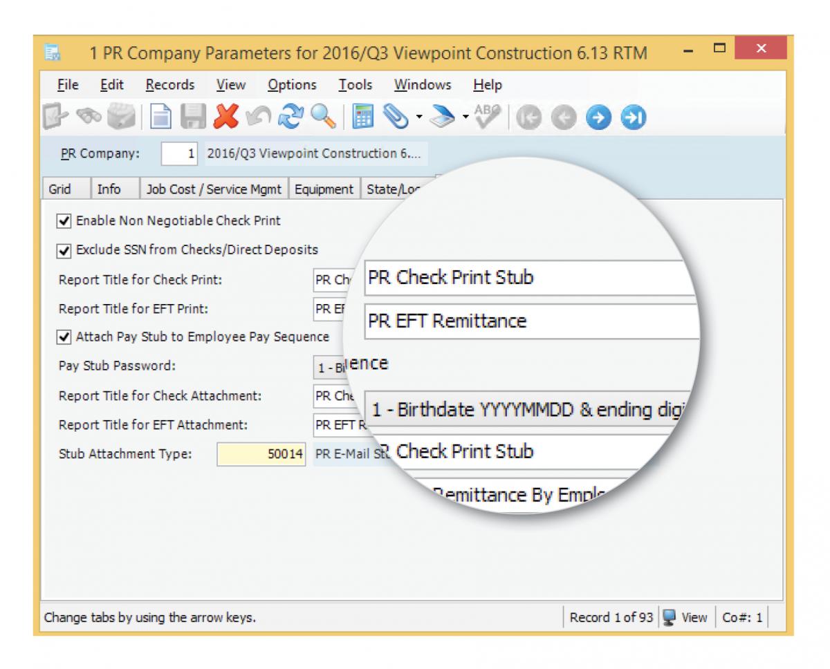 Vista 6 13 Accounting Enhancements   Viewpoint