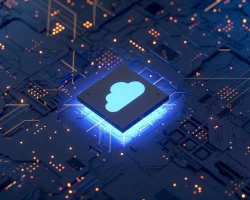 A Cloud Symbol on Data Board