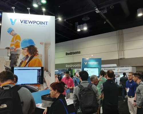 Viewpoint's Booth at the CONEXPO Convention