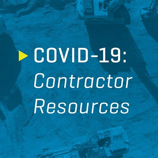 Graphic for Coronavirus Contractor Resources