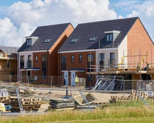 Run Down Housing Construction in the UK
