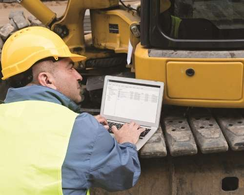 Construction Worker Using Cloud Based Technology