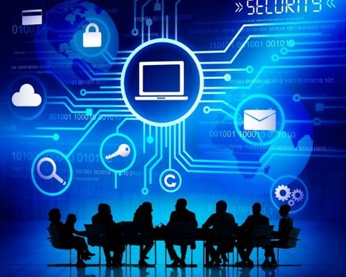 Cyber Security with Group Silhouette