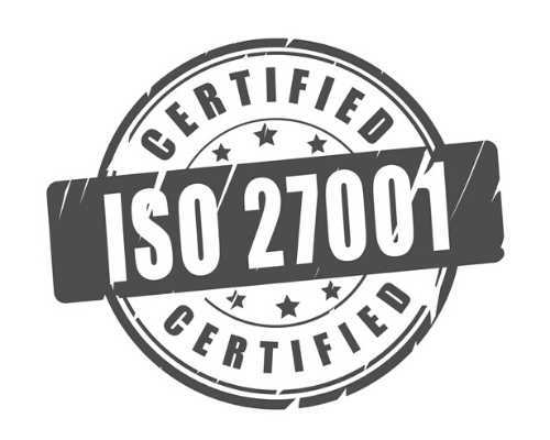 ISO 27001 Cyber Security Certification Badge