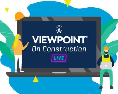 A Viewpoint on Construction Live Webinar Graphic