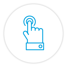 Product Benefits Icon Button Push