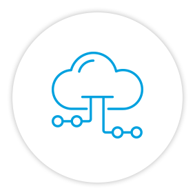 Product Benefits Icon Cloud Connectivity