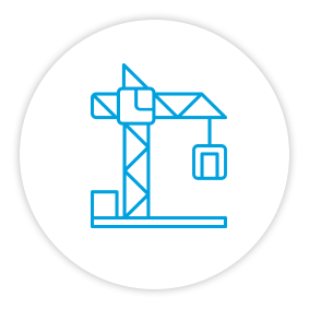 Product Benefits Icon Crane