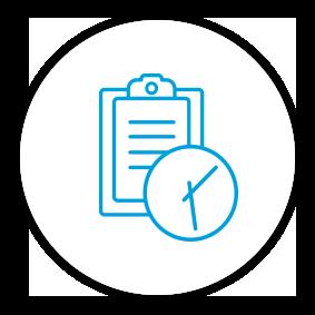 Product Benefits Icon Timesheet