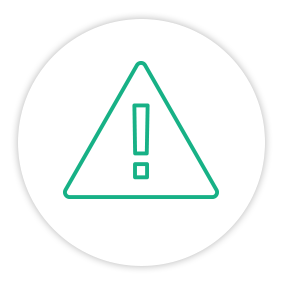 Solution Painpoint Icon Alert Symbol