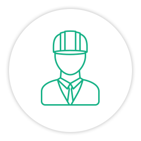 Solution Painpoint Icon Construction Office Worker