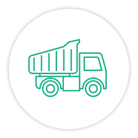 Solution Painpoint Icon Dumptruck