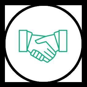 Solution Painpoint Icon Handshake