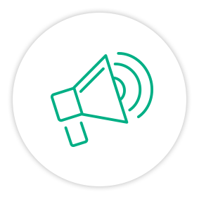 Solution Painpoint Icon Megaphone