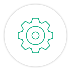 Solution Painpoint Icon One Big Gear