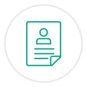 Solution Painpoint Icon Person Document