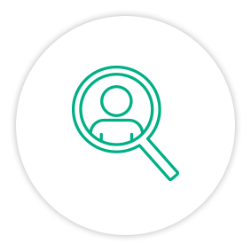 Solution Painpoint Icon Person Search