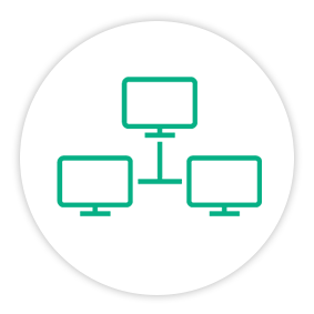 Solutions Painpoint Icon Network