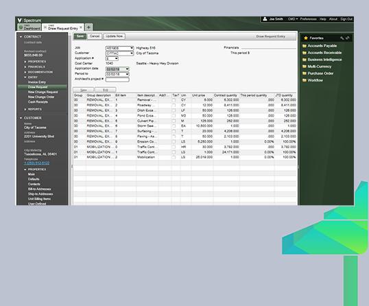 Spectrum Device Infobar
